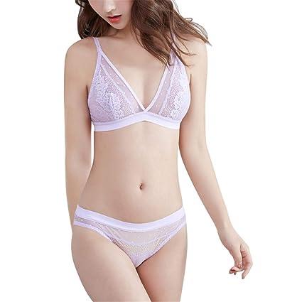 3d467191dfc Women Sexy Bra Top+Briefs Arranged Seamless Sexy Lace Strong Bra Set Women  Under Garments