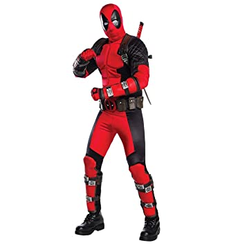 Adult Grand Heritage Deadpool Fancy dress costume X-Large