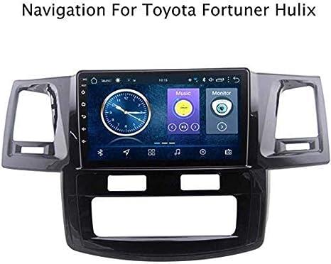 Navegación GPS del Coche Sistema de navegación GPS para Autos Toyota Fortuner 2007-2015 Hulix Navigator 9 Pulgadas de Manos Libres con Pantalla táctil Soporte Multimedia / 2DIN,Coche,4GWi.: Amazon.es: Electrónica