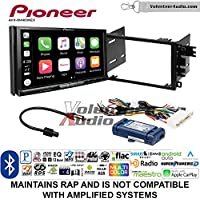Volunteer Audio Pioneer AVH-W4400NEX Double Din Radio Install Kit with Wireless Apple CarPlay, Android Auto, Bluetooth Fits 2000-2005 Buick LeSabre, 2000-2005 Pontiac Bonneville (With Bose)