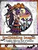 Spellbinding Images: A Fantasy Coloring Book of Witches: Extended Edition (Volume 1)
