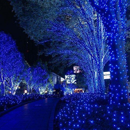Qedertek Solar U0026 Battery Powered Christmas Lights, 72ft 200 LED Dual Power  Supply Seasonal Decorative Fairy String ...