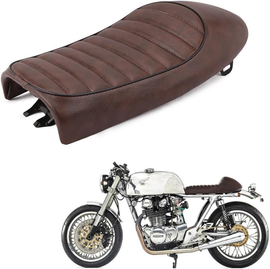 An Xin Motorrad Vintage Cafe Racer Hump Sattel Sitz Für Honda Cg 125 Auto