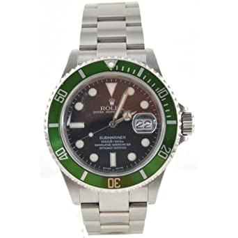 fa56f0550aa Men s Rolex Oyster Precision Submariner Chronometer Stainless Steel Watch