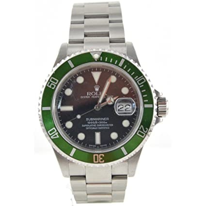 087b3dba5e0b Amazon.com  Men s Rolex Oyster Precision Submariner Chronometer Stainless  Steel Watch  Rolex  Watches