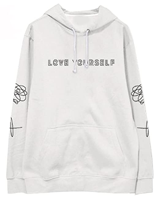 SERAPHY Unisex BTS Sudaderas Jersey BTS Love Yourself Sudaderas para Army Suga Jin Jimin Jung Kook J-Hope Rap-Monster V: Amazon.es: Ropa y accesorios