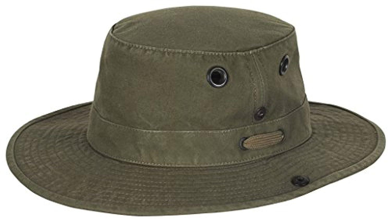 8de731332e8 Tilley T3 Wanderer Hat Olive 7   Insect Repellent Spray Bundle at Amazon  Men s Clothing store