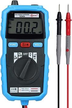 Multimeter Mit Elektrische Tester Auto Digital Meter Voltmeter Amperemeter Ohmmeter Ac Dc Spannung Dc Strom Widerstand Dioden Transistor Akustischer Durchgangsprüfer Für Schule Labor Factory Baumarkt