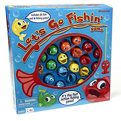 Let's Go Fishin' by Pressman Toys