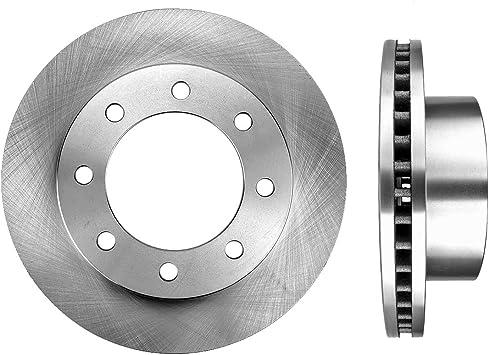 Max Brakes Front Premium OE Rotors and Ceramic Pads Brake Kit KT015341-34