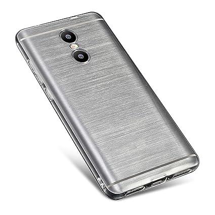 Sunrive Funda para Xiaomi Redmi Note 4, Ultra Fina TPU Slim Fit Funda Gel Transparente Carcasa Case Bumper de Impactos y Anti-Arañazos Espalda ...