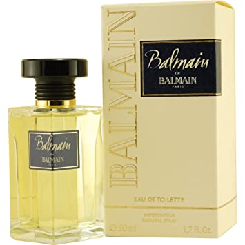 De Toilette Spray Balmain 50ml Eau SzVqLMGUp