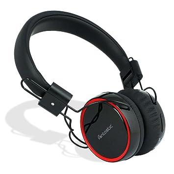 FONTASTIC 237713 Bluetooth Auriculares Pogo con Manos Libres Integrado, Color Negro: Amazon.es: Electrónica
