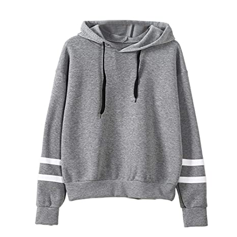 ZJSWCP Sweatshirt Casual New Women Long Sleeve Hoodie Sweatshirt Jumper Pullover Tops Blouse Women Sweatshirt with
