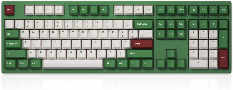 Akko 3108DS Matcha Red Bean Full Size Mechanical Keyboard