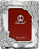 Arthur Court Grape 5x7 Silver Picture Frame