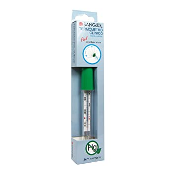 Sangool Manual Thermometer Without Mercury