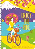 Bike Art 2017 – 2018 On-the-Go Weekly Planner: 17-Month Calendar with Pocket