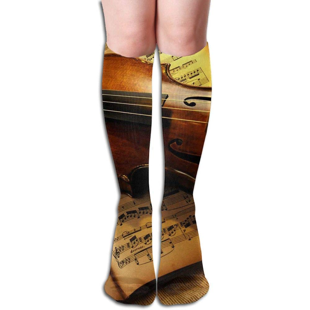 Tube High Knee Sock Boots Crew Dancing Pig Compression Socks Long Sport Stockings 19.7in (50cm) shower curtain doormat