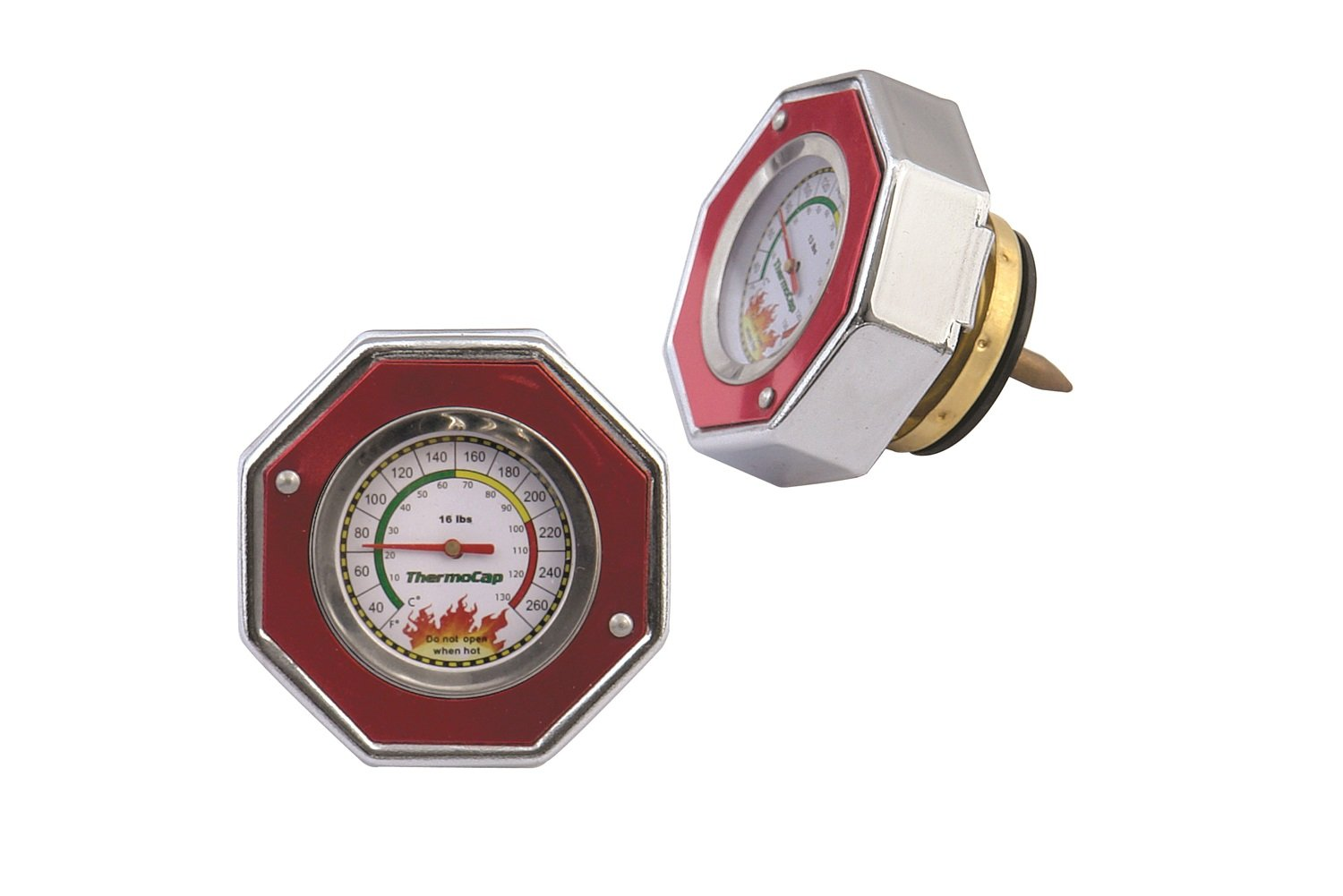 Mr. Gasket 2471R Domestic ThermoCap 16 PSI-RED