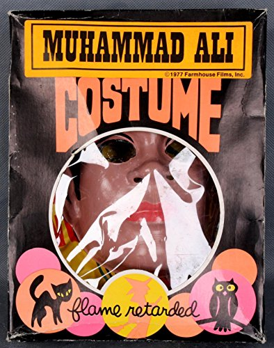 1977 Farm House Films, Inc. - Muhammad Ali Halloween Costume with Box - Autographed Boxing Miscellaneous Items -