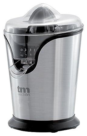 Tm Electron TMPEX008 Exprimidor eléctrico de cítricos en acero inoxidable 100 W, Gris: Amazon.es: Hogar