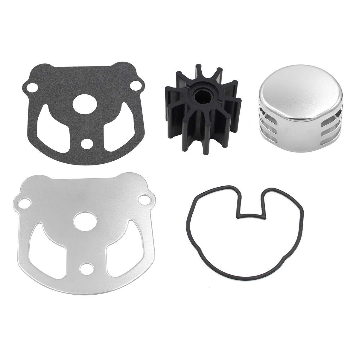 Fit OMC Cobra Water Pump Impeller Repair Kit Replaces 984461 777128//983895