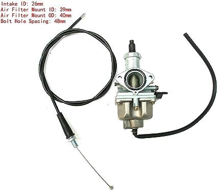 Carburador de choque de alto rendimiento para Honda CB125 ...