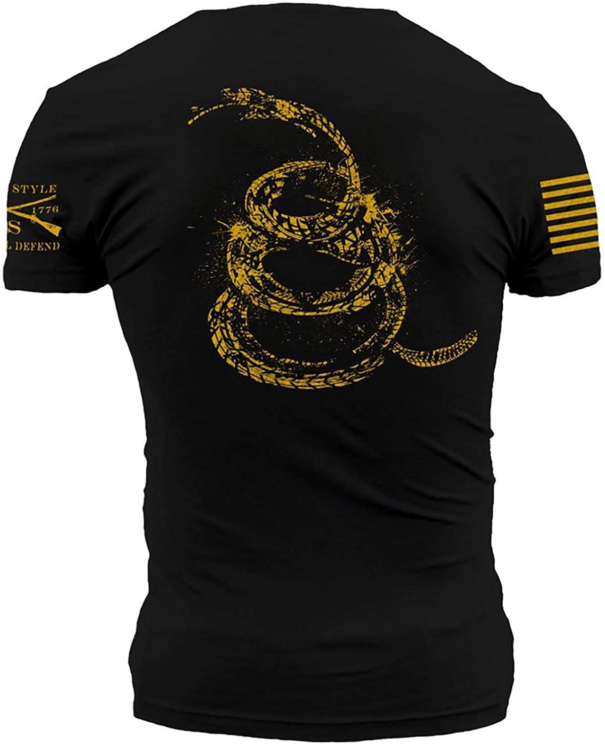 Black Grunt Style Don/'t Tread On Me 2.0 T-Shirt