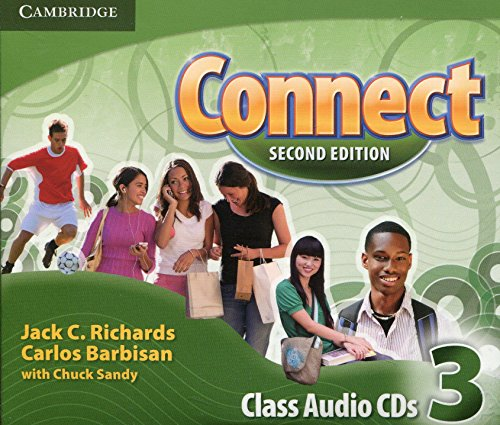 Connect Level 3 Class Audio CDs (3) by Cambridge University Press