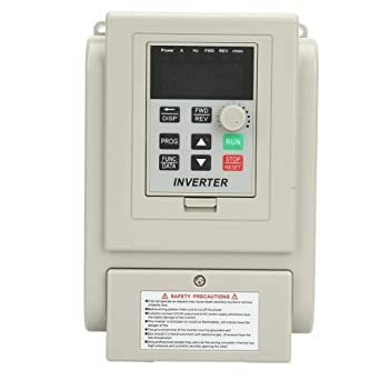 VFD Variable Frequency Drive 220VAC Speed Controller Inverter for Single-Phase 1.5kW AC Motor Control Variable Frequency Drive