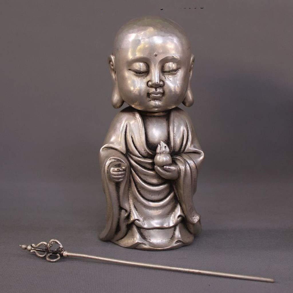 LXYFMS Tibet Tibetan Buddhism Temple Silver Dig Buddha Buddha Buddha Statue Crafts by LXYFMS (Image #2)