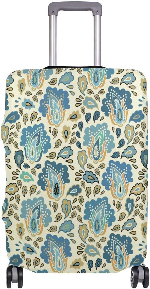 Blue Viper Vintage Classic European Style Pattern Luggage Protective Cover Suitcase Protector Fits 22-24 Inch Luggage