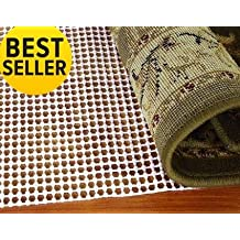 Ultra Area Rug Underpad Rug Pad 5 by 8 Feet Rugs On Hard Surface Floors Thick Underlay For Rugs Prevents Slipping (5'X8')