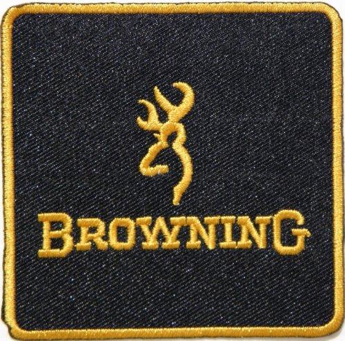 BROWNING Handguns Rifle Pistol Gun Shotgun Firearms Knife Logo Jacket T shirt Patch Sew Iron on Embroidered Symbol Badge Cloth Sign By Prinya Shop
