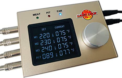 LavaLockⓇ Automatic BBQ Controller - Four Probes