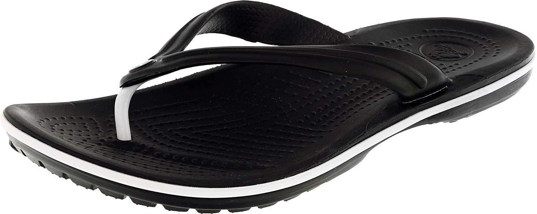 Crocs Unisex-Erwachsene Flip Crocband Flip Unisex-Erwachsene Pantoffeln schwarz (11033-001) 475548