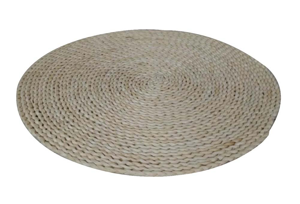 Handmade Natural Straw Mat Floor Mats Round Chair Cushion,Natural Color Dragon Sonic