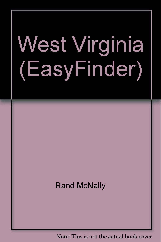 Rand McNally West Virginia Easyfinder Map