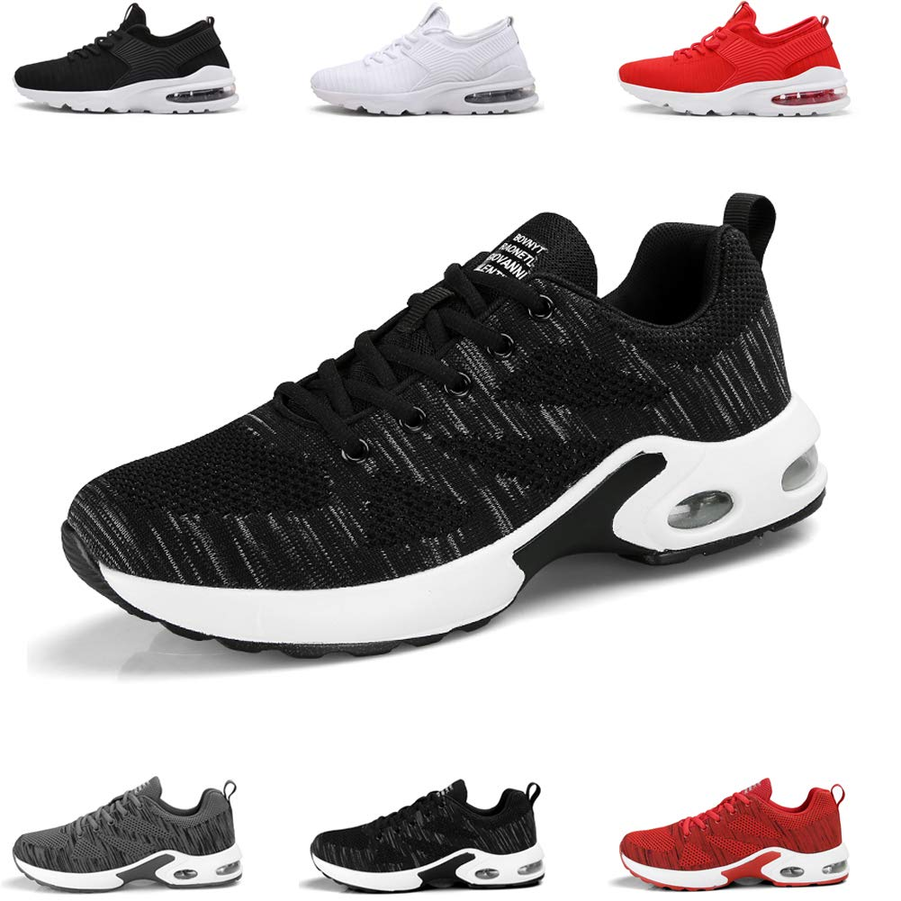 LSYSAG Zapatillas de Deporte Hombres Zapatos de Gimnasia para Caminar de Peso Ligero Zapatillas de Deporte Zapatos Deportivos para Hombre