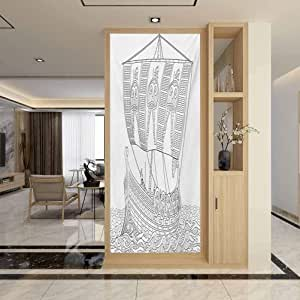 Amazon.com: 3D Static Cling Window Glass Film, Toga Party