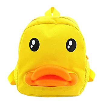 Image Unavailable. Image not available for. Color  Unisex-child School Bags Cartoon  Kids Backpack Rubber Duck Zipper Children Nylon 85f747bdc8b79