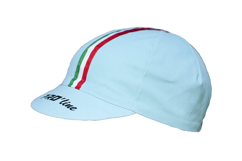 PRO line - Gorra de Ciclismo Proline Tricolor Celeste Bianchi New ...