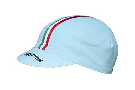 Cappellino SOTTOCASCO Ciclismo PRO line Tricolore Celeste Bianchi New Line abaad5431787
