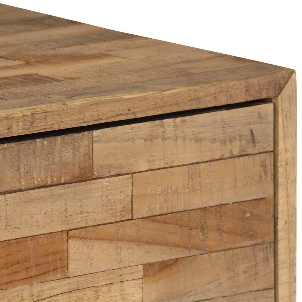 vidaXL 2X Buffet Bois Teck Recycl/é Meuble de Rangement Armoire Commode Bahut