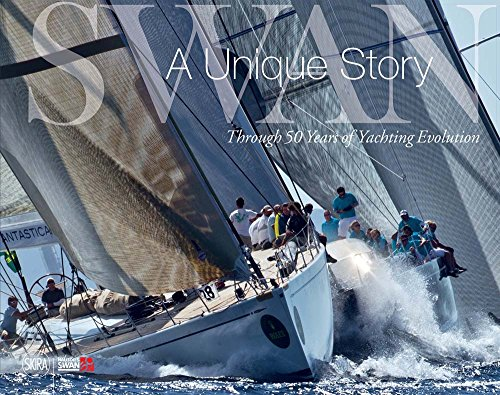"""The activity of the most glorious sailing yacht company, founded in Finland in 1966, in the official book published on the occasion of its fiftieth anniversary. """"Swans are very special. They are special because of the way they are built, the wa..."""