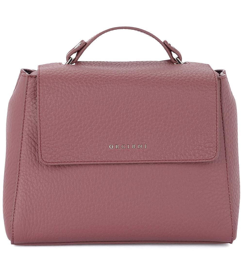 Orciani Women s Orciani Sveva Small Terracotta Tumbled Leather Handbag Red   Amazon.co.uk  Clothing b6c254c8a145b