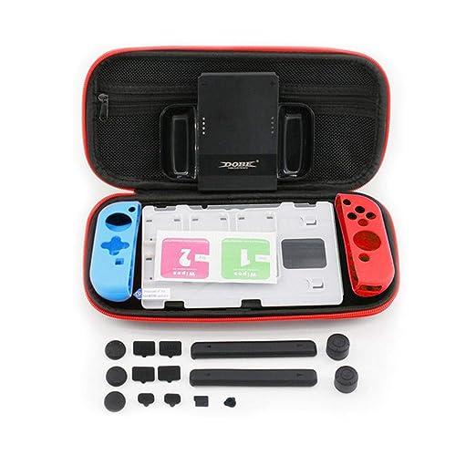 Volwco Kit de Accesorios 8 en 1 para Juegos Nintendo Switch ...