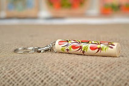 Llavero de madera artesanal accesorio decorativo regalo ...