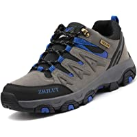 Zapatillas de Trekking para Hombres Zapatillas de Senderismo Botas de Montaña Antideslizantes Calzado de Trekking Botas…